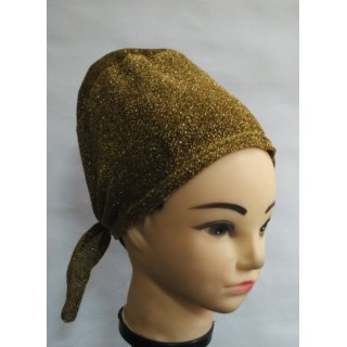 Shimmer Under-Hijab Cap - Golden