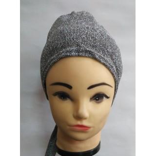 Shimmer Cap - Silver