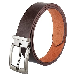 Genuine Leather Belt For Men |Pin Buckle| Brown