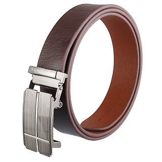 Genuine Leather Belt For Men - BROWN  |Pin Buckle|