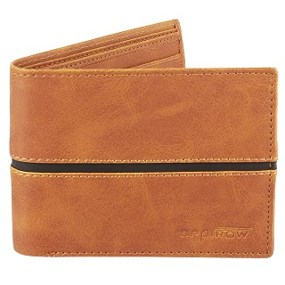 Men's Genuine Leather Wallet - Tan