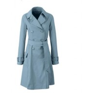 Irani Monto Coat in Sky blue color