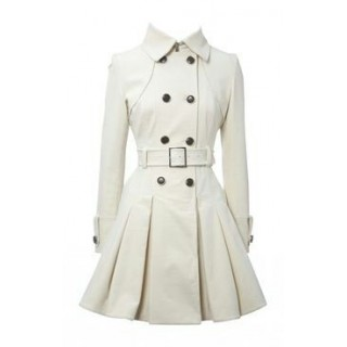 Irani Monto Coat in White color