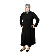Irani Monto Coat - Trio pattern in Black Color