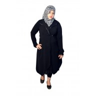 Irani Monto Coat - Trio pattern Wrap around