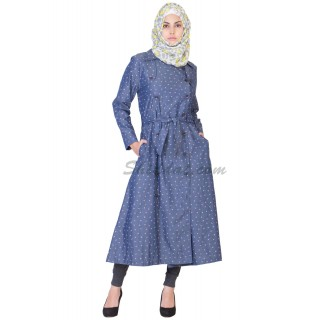 Denim Coat for women- Front Open