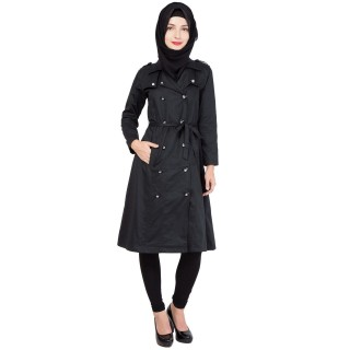 Irani Monto Coat for Women- Z Black