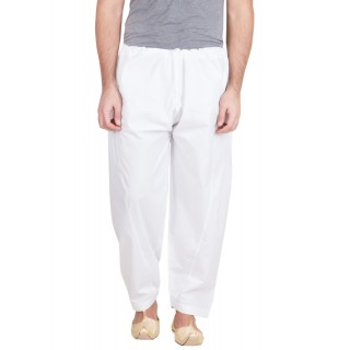 White Salwar Pajama for men- Cotton Fabric