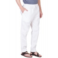 Pant Cut cotton Pyjama- Plain White