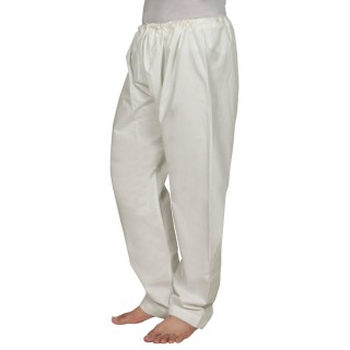Aligarh Pyjama- White