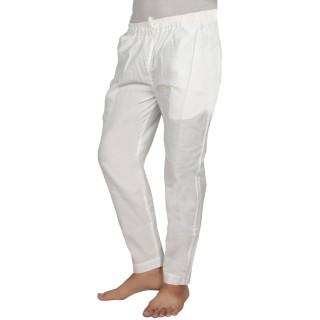 Pant Cut Pyjama-White