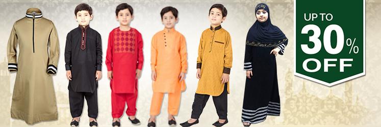 Kids Islamic clothing