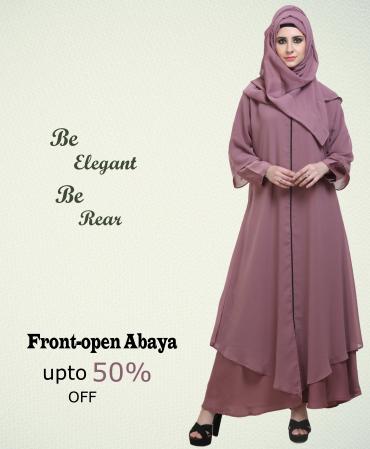 Front open Abaya